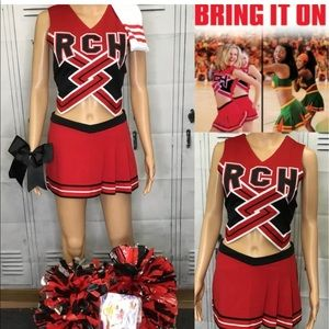 Cheer uniform bring it on toros xxl